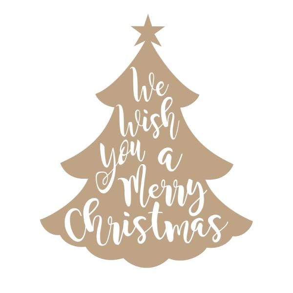 Spellbinders Glimmer Hot Foil Plate - We Wish You Holiday (GLP-046)