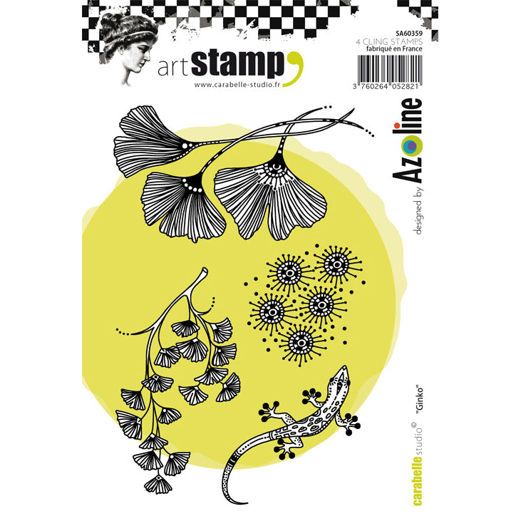 Carabelle Studio Stamps - Ginko