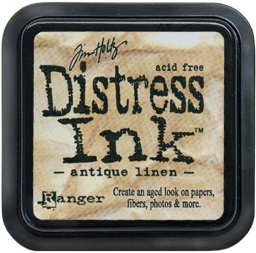 Tim Holtz Distress Ink Pads: Antique Linen