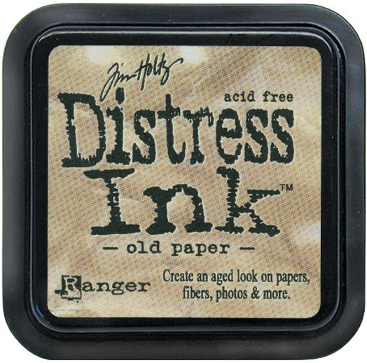 Tim Holtz Distress Ink Pads: Old Paper