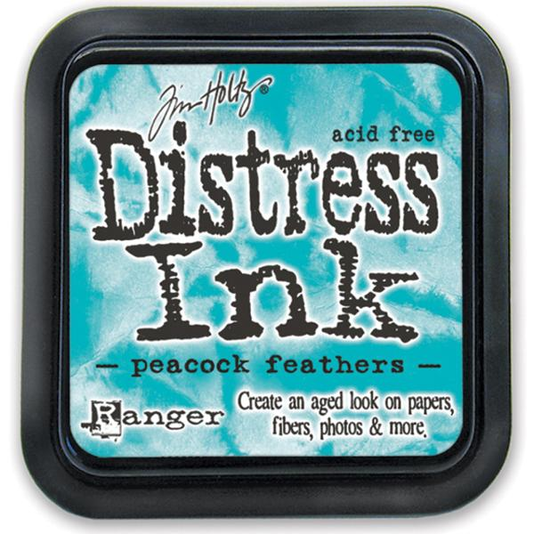 Tim Holtz Distress Ink Pads: Peacock Feathers