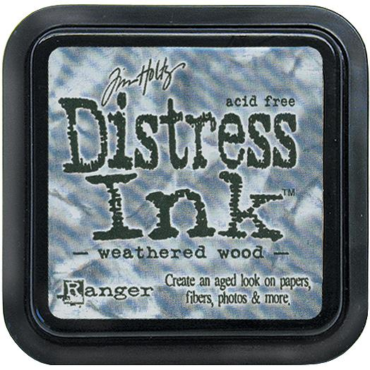 Tim Holtz Distress Ink Pads: Weathered Wood