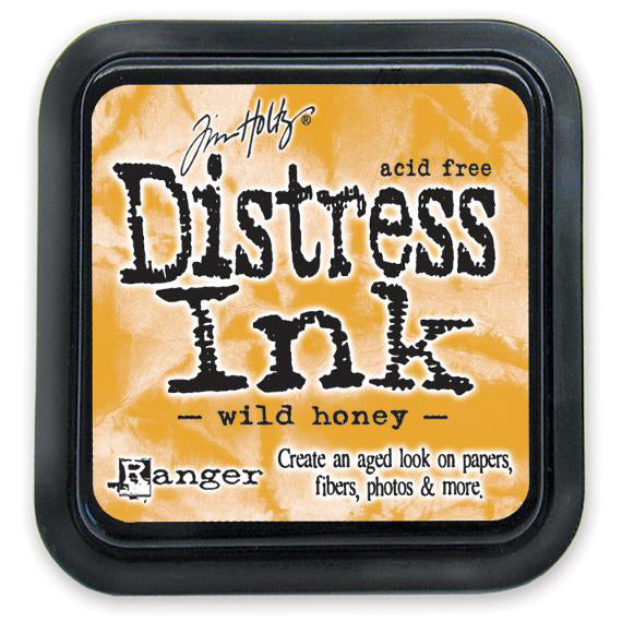 Tim Holtz Distress Ink Pads: Wild Honey