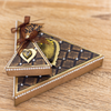 Gemini by Crafters Companion - Double-Sided Die - Dimensionals - Triangle Box