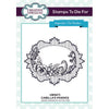 Sue Wilson Stamps To Die For - Camilla's Pansies Pre Cut Stamp  - UMS873