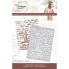 "Sara Signature Collection - Vintage Diary - 5"" x 7"" Embossing Folder - Dear Diary"