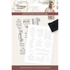 Sara Signature Collection - Vintage Diary- Photopolymer Stamp - Adorning Sentiments