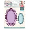 Sara Signature Collection by Crafters Companion - Vintage Lace - Metal Die - Baroque Frames