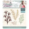 Sara Signature Collection by Crafters Companion - Vintage Lace - Metal Die - Botanicals