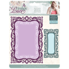 Sara Signature Collection by Crafters Companion - Vintage Lace - Metal Die - Rococo Frames