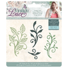 Sara Signature Collection by Crafters Companion - Vintage Lace - Metal Die - Vintage Vines
