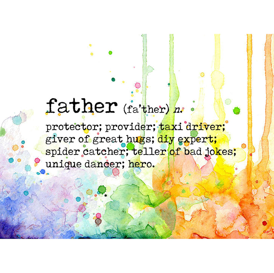 Visible Image Stamp - Father Definition