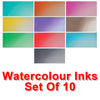Cosmic Shimmer Watercolour Ink - Full Set of 10