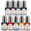 Cosmic Shimmer - Pearlescent Watercolour Ink - 20ml - Set Of 9