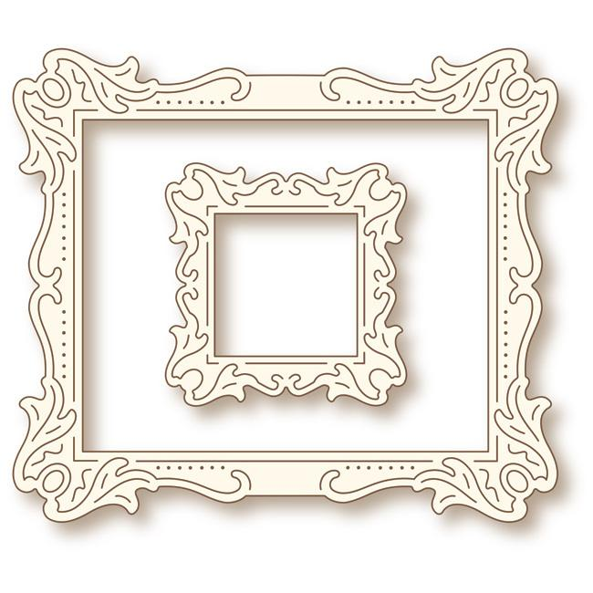 Wild Rose Studio Dies: Antique Art Frames (SD037)