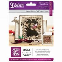 Crafters Companion Diesire 4.4 x 5 Create a Card - Christmas Eve