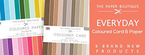 Paper Boutique Everyday Coloured Card And Paper