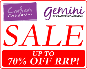 Crafters Companion Sale