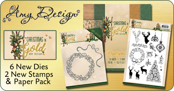 Amy Design Christmas In Gold