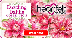 Heartfelt Creations Dazzling Dahlia Collections