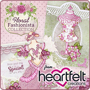Heartfelt Creations Floral Fashionista