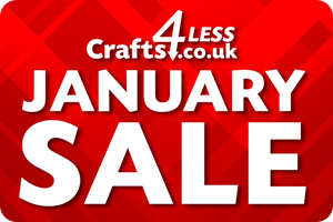 Crafts 4 Less January Sale