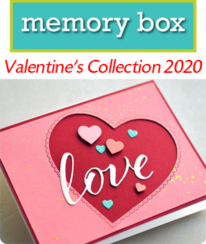 Memory Box Valentines Collection