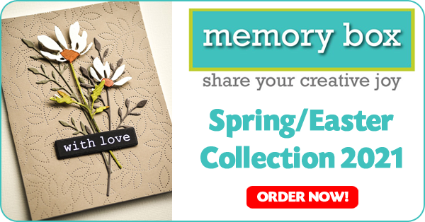Memory Box & Poppy Stamps Spring Collection