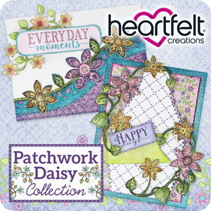 Heartfelt Creations Patchwork Daisy