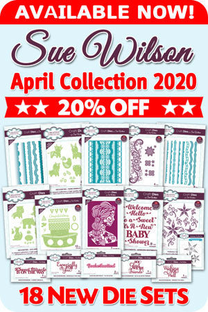Sue Wilson April Collection
