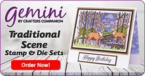 Gemini Traditional Scene Stamp & Die Sets