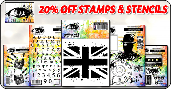 20% Off Visible Image Stamps & Stencils