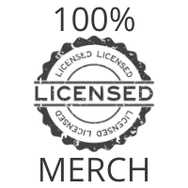 100% Licensed Merch