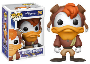 Funko POP! - Disney: Launchpad McQuack #297