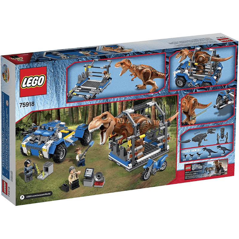 jurassic world t. rex tracker set LEGO® 75918