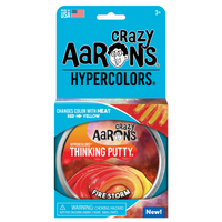 Thinking Putty - Hypercolor Fire Storm 4""