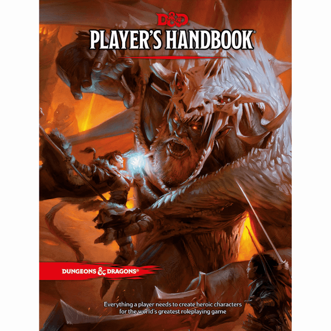 Book - Dungeons and Dragons: Player's Handbook