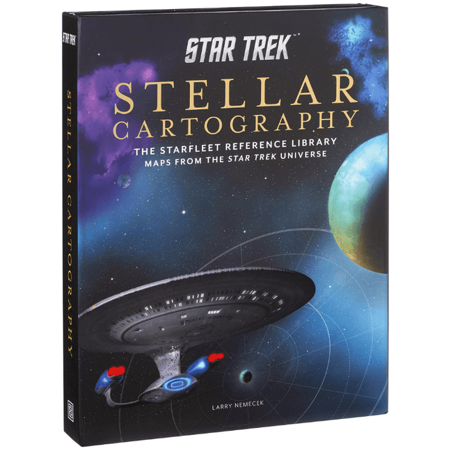 Book - Star Trek Stellar Cartography: The Starfleet Reference Library Maps from the Star Trek Universe