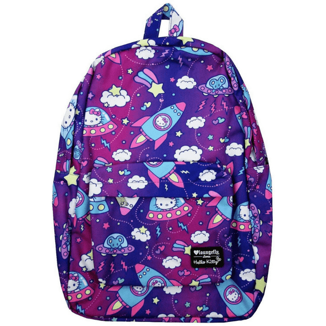 Bag - Hello Kitty: Galactic Printed Nylon Backpack by Loungefly