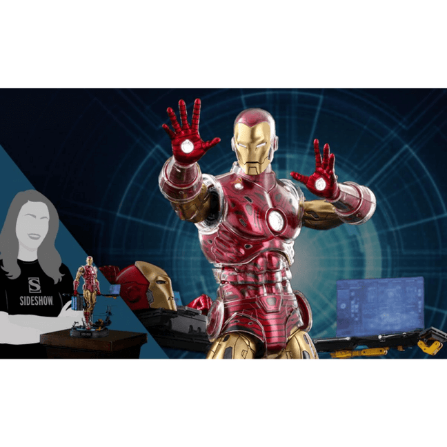 Figure - Marvel Comics: Iron Man The Origins Collection (Deluxe) Sixth Scale by Hot Toys [PRE-ORDER]