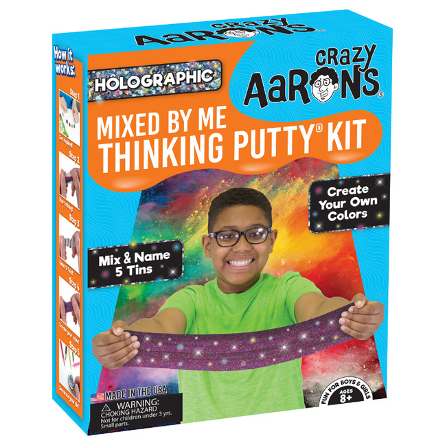 Thinking Putty - Mixed by Me® Create Your Own Putty Kit: Holographic