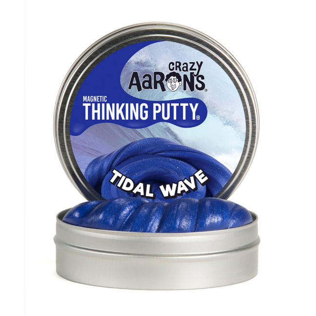 "Thinking Putty - Magnetic: Tidal Wave 4"" Tin"