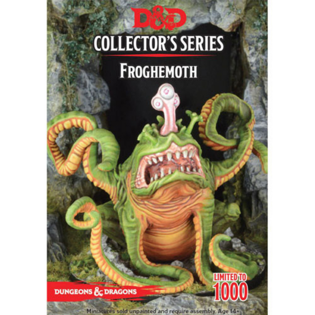 Dungeons & Dragons - Collector's Series Unpainted Miniatures: Froghemoth