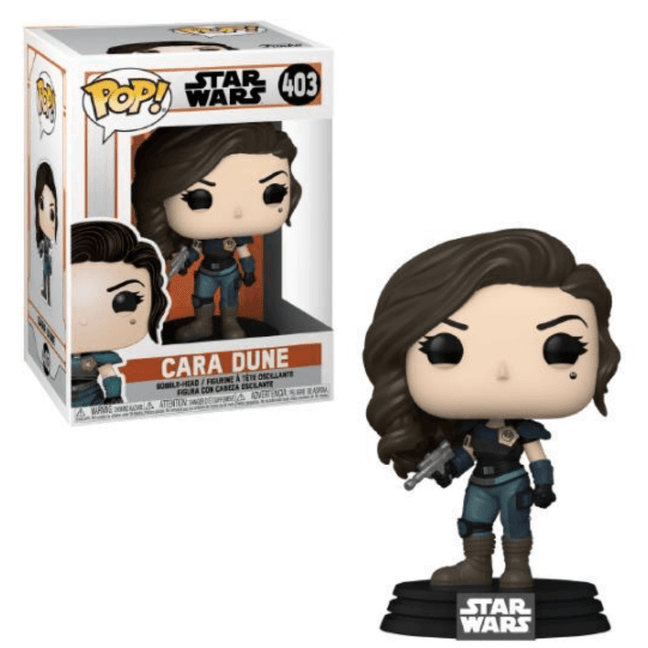 Funko POP! - Star Wars The Mandalorian: Cara Dune with Blaster #403