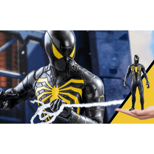 spider man anti ock suit action figure