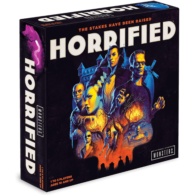 horrified board game how to play