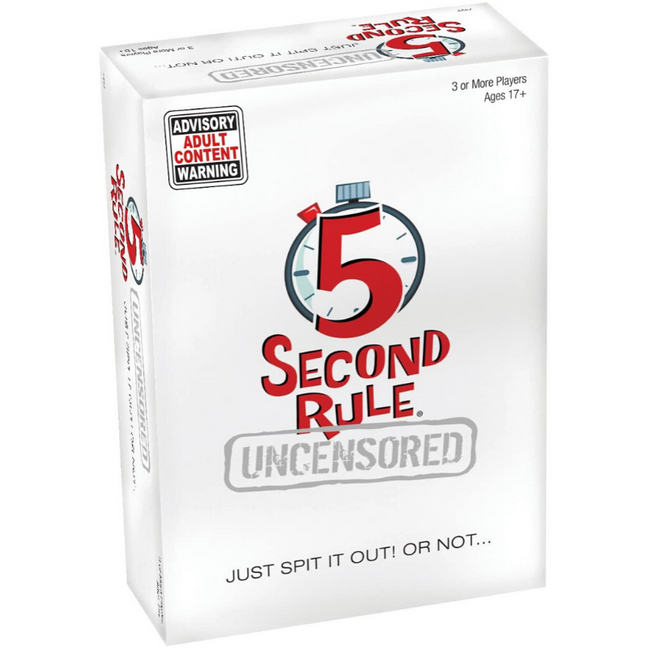 dirty 5 second rule questions