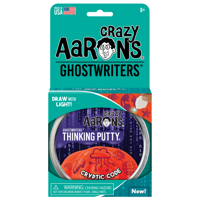 "Thinking Putty - Ghostwriters Cryptic Code 4"" Tin"