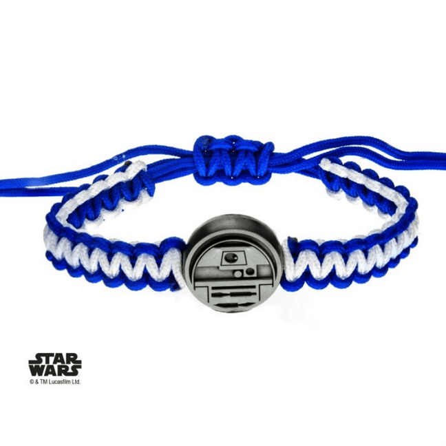 Bracelet - Star Wars: R2-D2 Adjustable Paracord