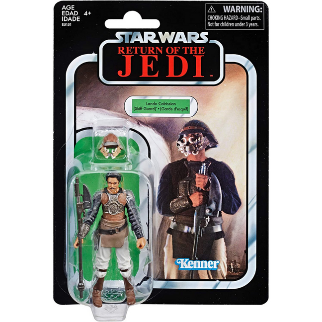 "Figure - Star Wars Return of the Jedi: 3.75"" The Vintage Collection Lando Calrissian Skiff Guard"